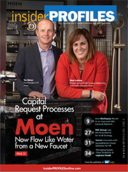Capital Request Processes at Moen Now Flow as Smoothly as Water from a Faucet