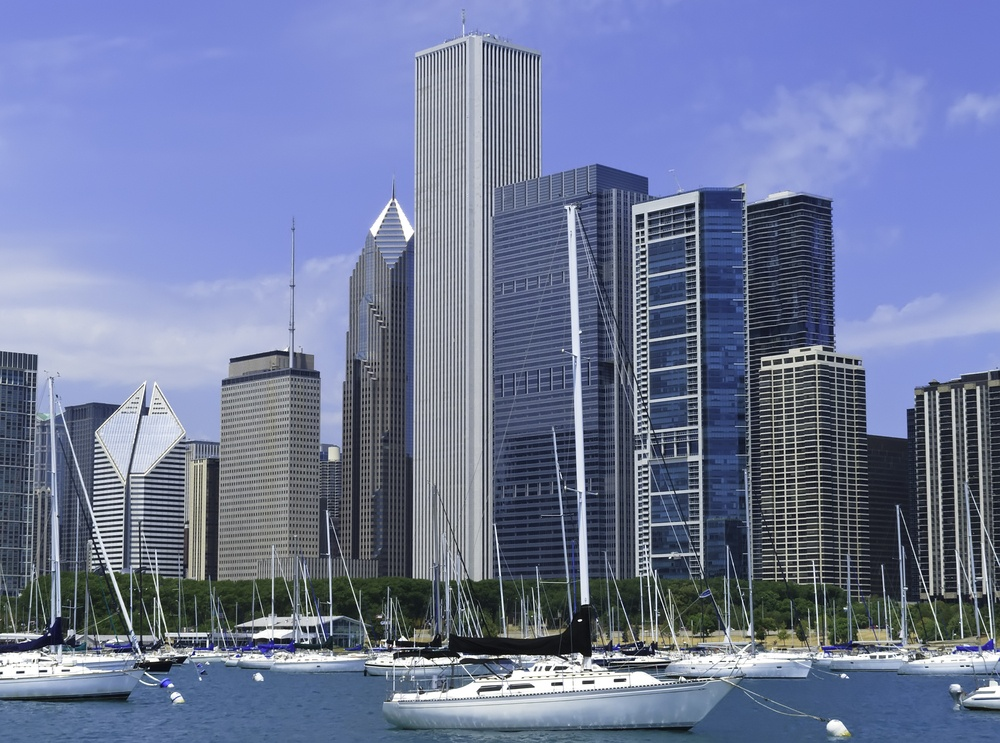 Boater's view of Chicago skyline in summer.jpeg